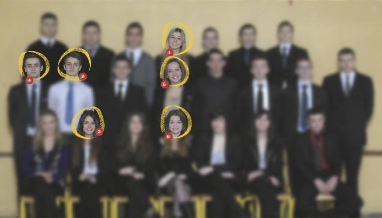 Les élèves de terminale pro CSR du lycée hôtelier Saint-Quentin-en-Yvelines, à Guyancourt (78)