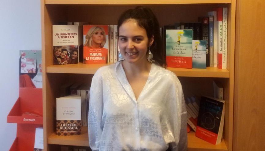 Déborah Vedel est devenue responsable commerciale chez Plon, à 23 ans. //©Photo fournie par le témoin