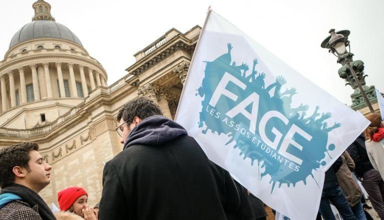 La FAGE est l'une des principales associations représentatives des étudiants.