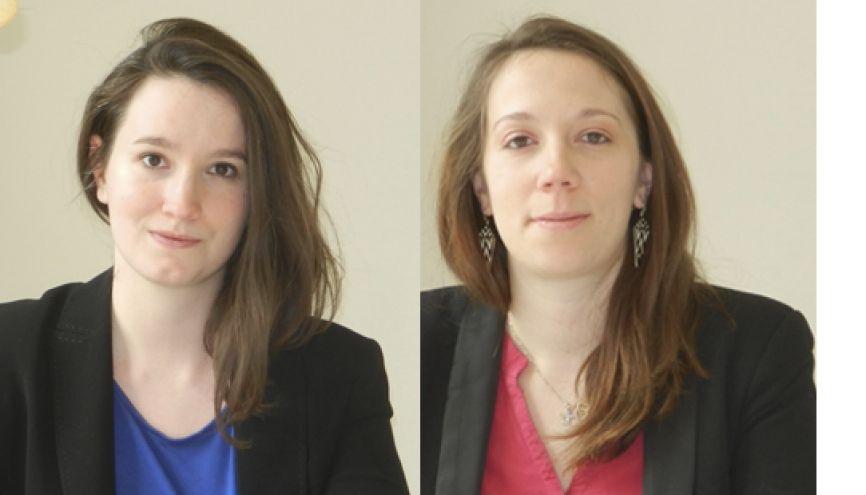 Mélanie et Éloïse (de gauche à droite) mettent l'humain au cœur de l'innovation avec Soscience. //©Photo fournie par les témoins