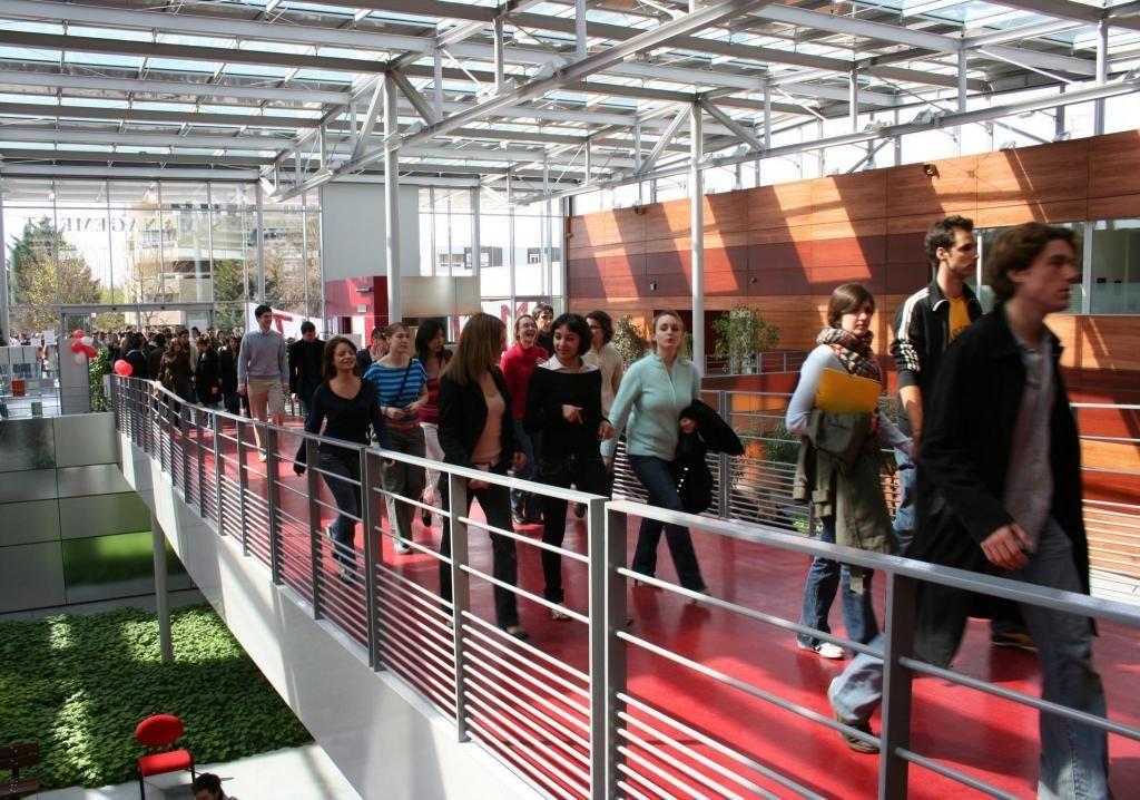 À Neoma (ici, le campus de Reims), les étudiants souhaitant intégrer un MSc devront émettre des vœux en deuxième année.  //©NEOMA Reims