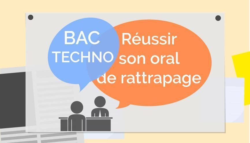 Bac TECHNO - Oral de rattrapage //©Juliette Lajoie