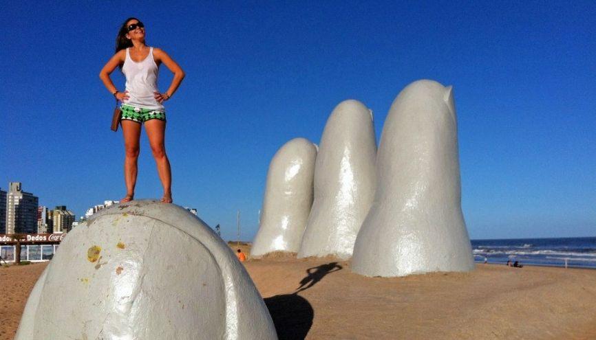 Fanny, étudiante en tourisme, a profité d'un échange de quatre mois à Buenos Aires //©Photo fournie par le témoin