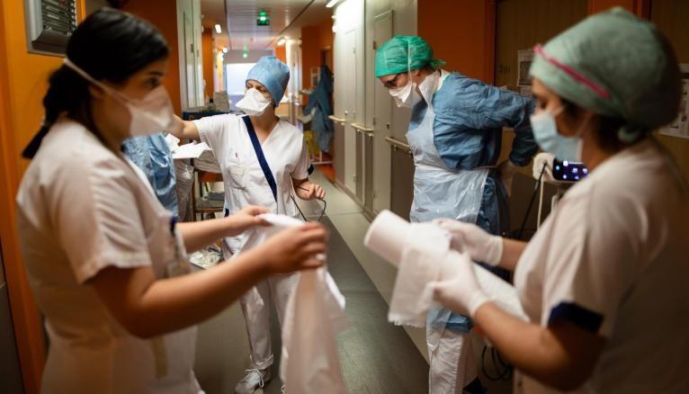 Selon la FNESI, 10,9% des étudiants mobilisés ont été contaminés par le coronavirus.