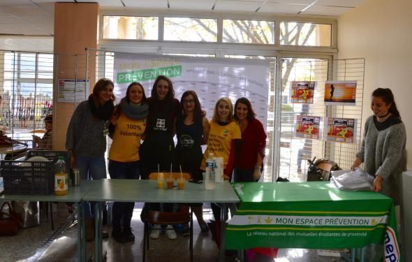 Distribution gratuite de smoothies !
