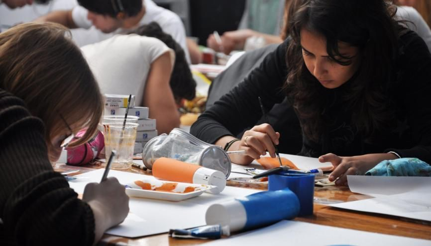 """À l'ESAG-Penninghen, les étudiants acquièrent """"la science du regard"""" avant de se diriger vers la filière direction artistique ou celle d'architecture intérieure. //©ESAG-Penninghen"""