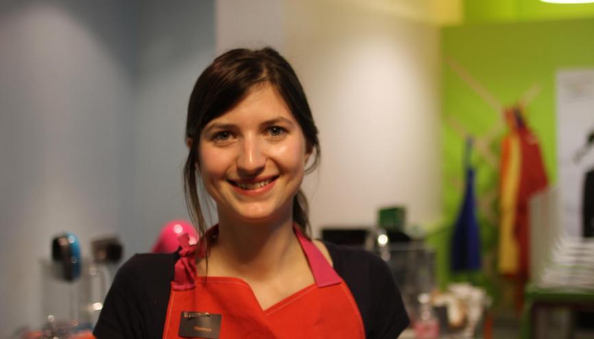 À 26 ans, Florence Pellegrini est à la tête d'une entreprise qui compte une dizaine de collaborateurs. //©Photo fournie par le témoin