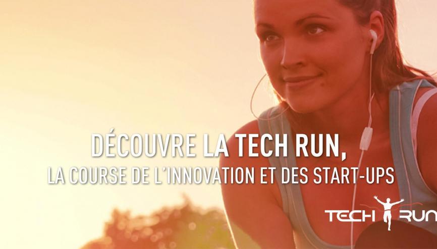 Une course pour se faire connaître à l'intérieur et à l'extérieur de son entreprise. //©Tech Run