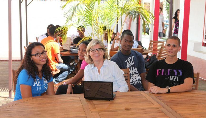 L'EGCMartinique revendique un taux d'insertion de 99 % pour ses diplômés, dont 40 % à l'étranger. //©EGC Martinique