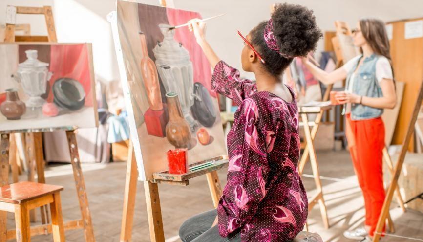 La plupart des élèves qui ont intégré des écoles supérieures d'art et de design sont passés par une prépa auparavant. //©rh2010 / Adobe Stock
