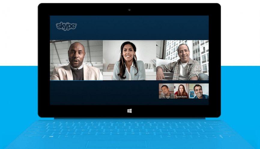 L'entretien sur Skype fait partie des nouveaux outils de recrutement. //©Skype