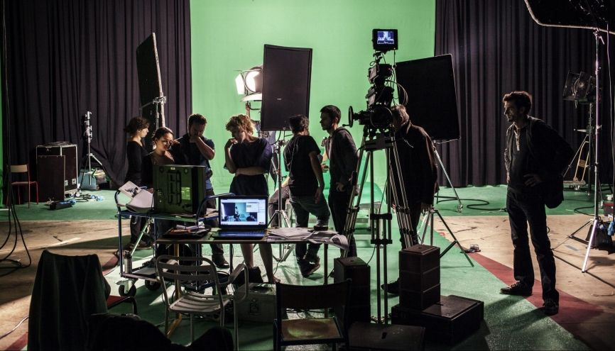 L'école Louis-Lumière forme essentiellement des techniciens de l'image et du son. //©Mat Jacob/Tendance Floue pour l'Etudiant