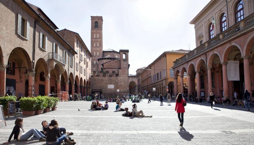 En Italie, les places sont chères dans les résidences universitaires et sont réservées en priorité aux étudiants italiens boursiers. //©Cathrine STUKHARD/LAIF-REA