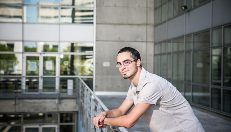 Thibault, 24 ans, en première année de master économie comportementale et décision, à l'université de Montpellier.