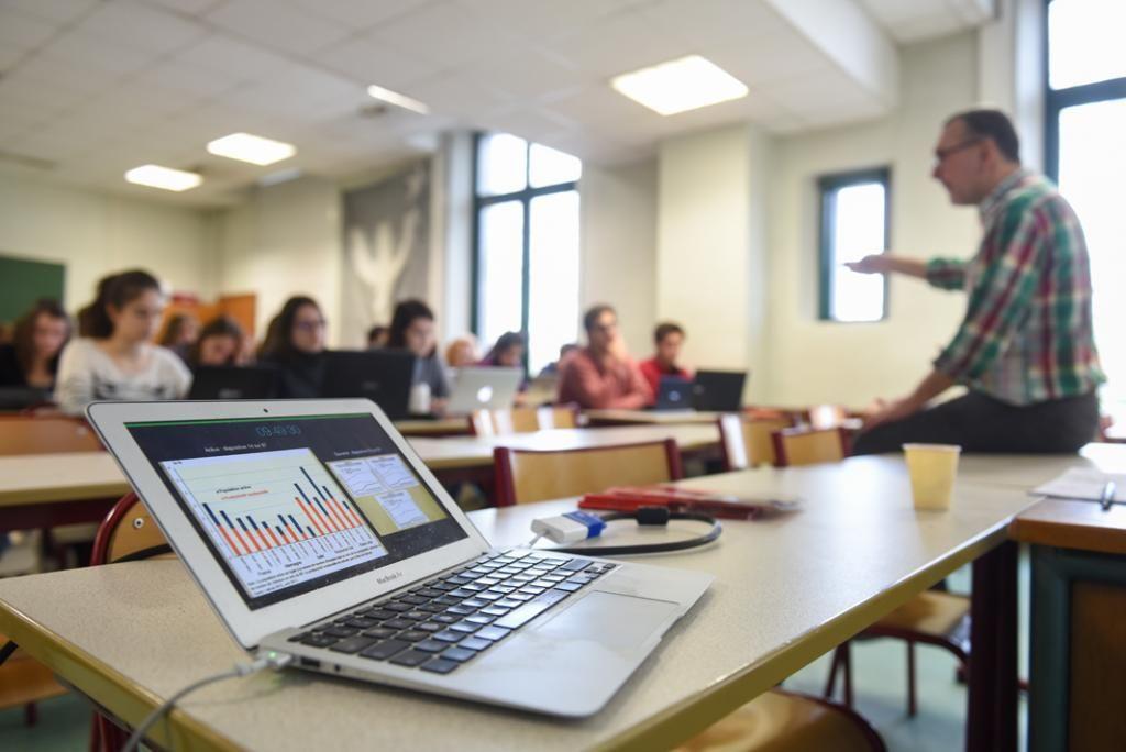 Les élèves de deuxième année de B/L se préparent à intégrer les ENS, les IEP, les grandes écoles de commerce… //©Olivier GUERRIN pour L'Étudiant