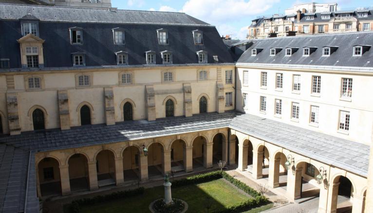 Le lycée Henri-IV, cible une alerte à la bombe, le 26 janvier, comme plusieurs autres lycées parisiens.