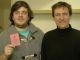 Benjamin Gaignault(24 ans, diplomé de Kedge) et Alexandre Chartier (27ans, diplomé de l'Essca d'Angers) ont lancé Ornikar, auto-école en ligne en février 2014 //©Etienne Gless