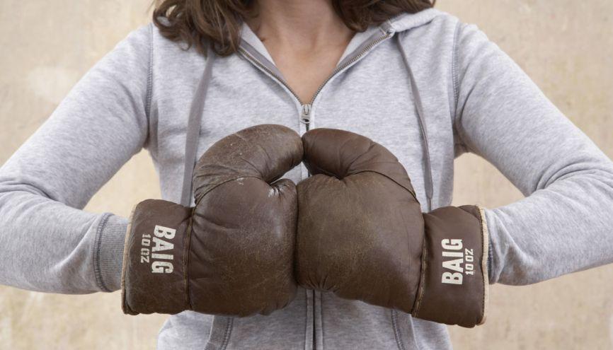 Les expressions utilisées en boxe peuvent l'être aussi dans le monde des études et professionnel. //©plainpicture/Elektrons 08