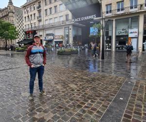 """Gaëtan a choisi Valenciennes """"pour la proximité"""" avec sa famille."""