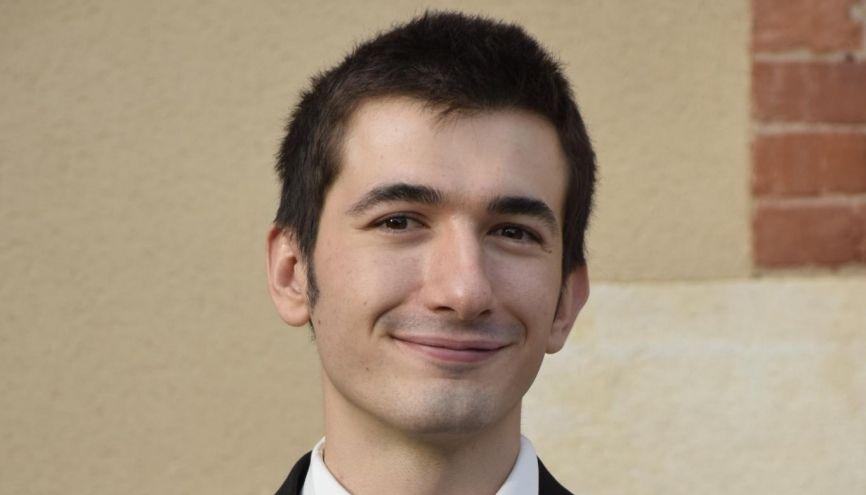Tristan, élève ingénieur à l'Insa Lyon, a suivi la formation au D2E. Une année fructueuse pour son projet. //©Photo fournie par le témoin