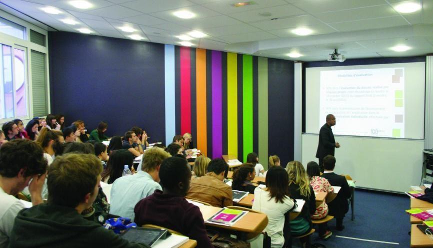 Le concours TEAM réunit trois écoles délivrant le grade de master en cinq ans, dont l'ICD. //©ICD
