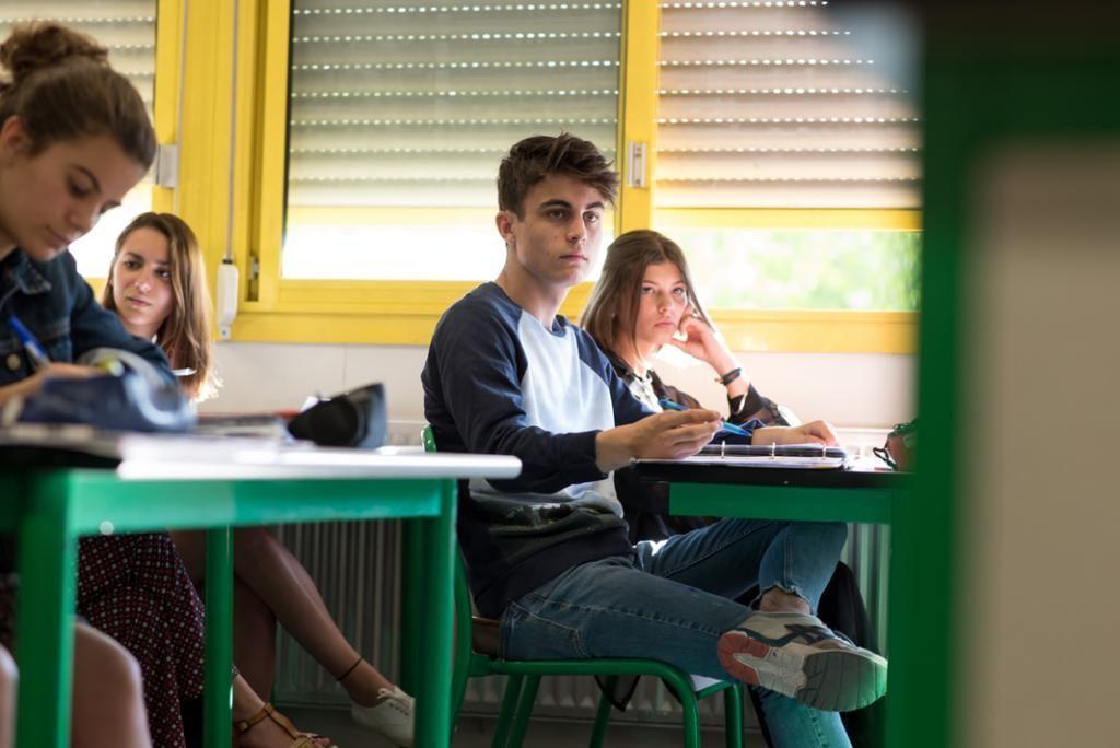 """Pendant les cours de français, il apprécie l'étude des textes de théâtre, notamment """"Don Juan"""" de Molière.  //©Olivier GUERRIN pour L'Étudiant"""