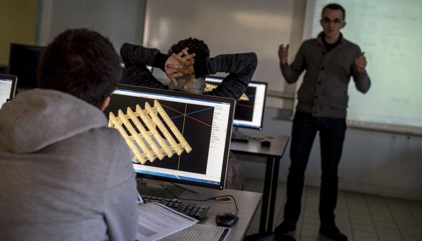 À l'ENSTIB, 100 % des intégrés le sont par admissions parallèles. //©Raphaël Helle/Signatures pour l'Etudiant