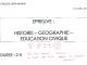 brevet blanc - dnb - histoire-géographie-éducation-civique //©photo fournie par l'établissement