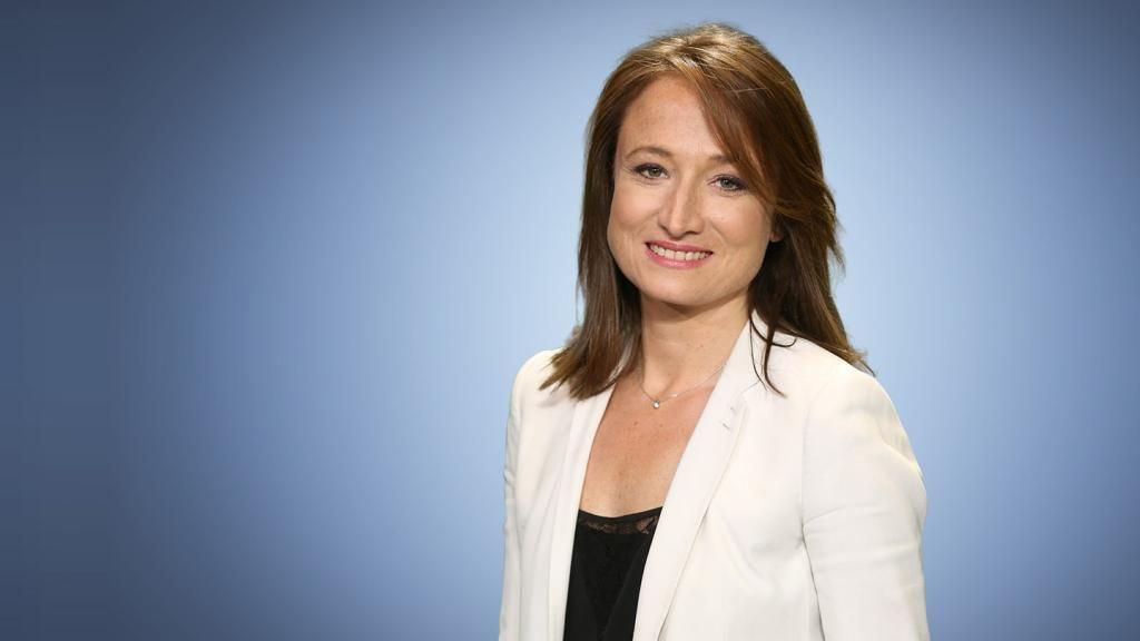Camille Langlade a rejoint la rédaction de BFM TV en 2016. //©Abaca Press – Jérôme Dominé