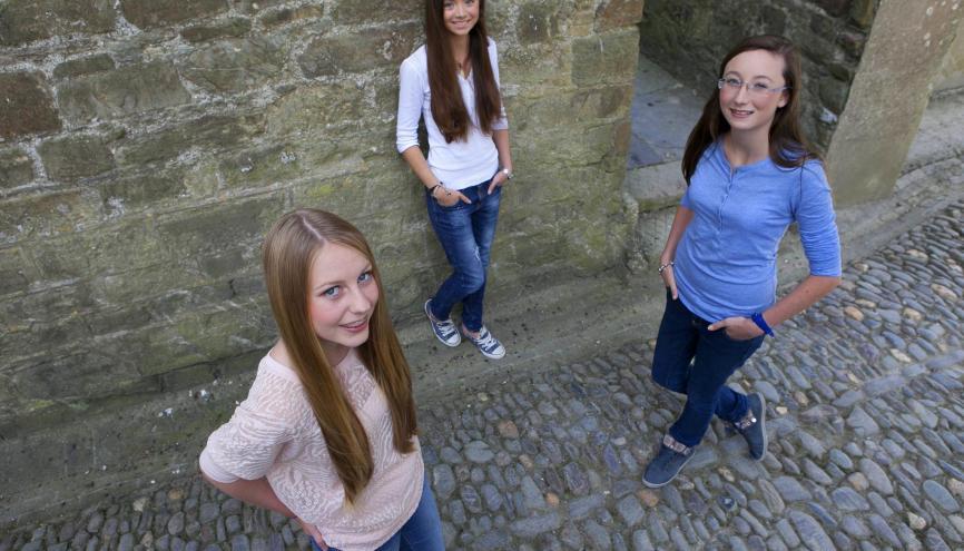 Irish Girls - 100 jeunes //©Fennell Photography Copyright 2013