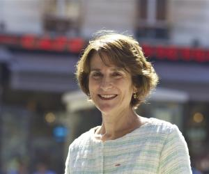 Marie-Christine Lemardeley, adjointe à la mairie de Paris en charge de l'enseignement supérieur de la recherche et de la vie étudiante.