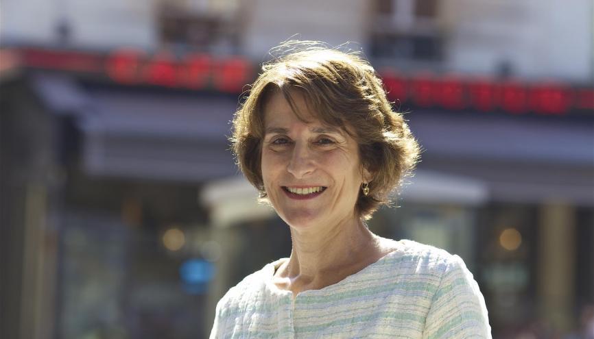 Marie-Christine Lemardeley, adjointe à la mairie de Paris en charge de l'enseignement supérieur de la recherche et de la vie étudiante. //©Mairie de Paris