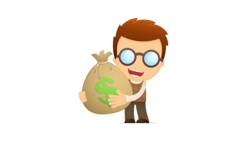 Très recherchés par les entreprises, les geeks perçoivent des salaires élevés dès leur sortie de l'école. //©Fotolia