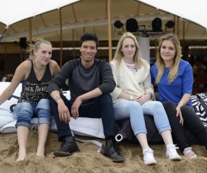 Justine, Hugo, Naomie et Barbara : des apprentis coiffeurs et photographes au Festival de Cannes