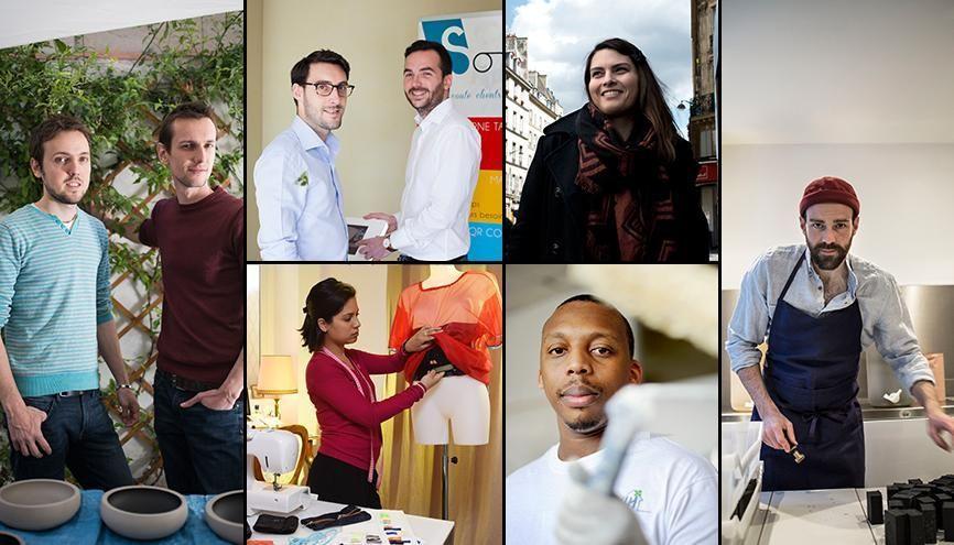 Portraits de jeunes audacieux engagés dans l'aventure de l'entrepreneuriat. //©letudiant.fr
