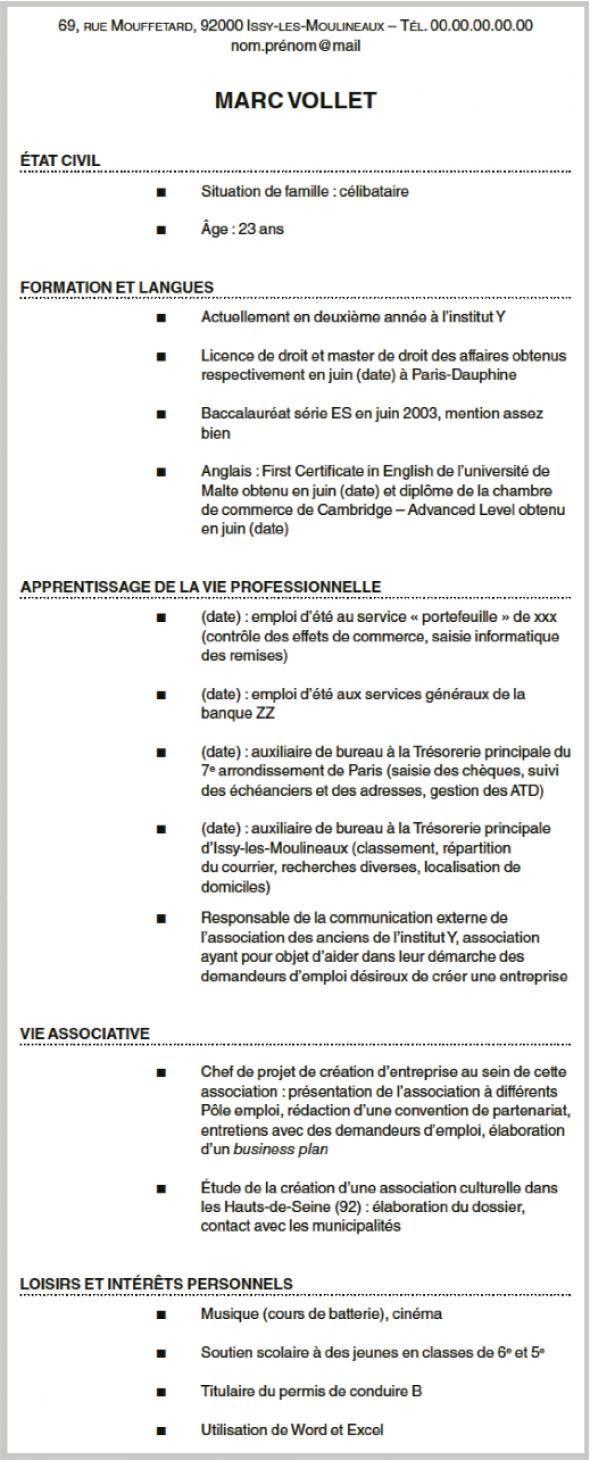cv et lettre de motivation   comment construire une candidature coh u00e9rente