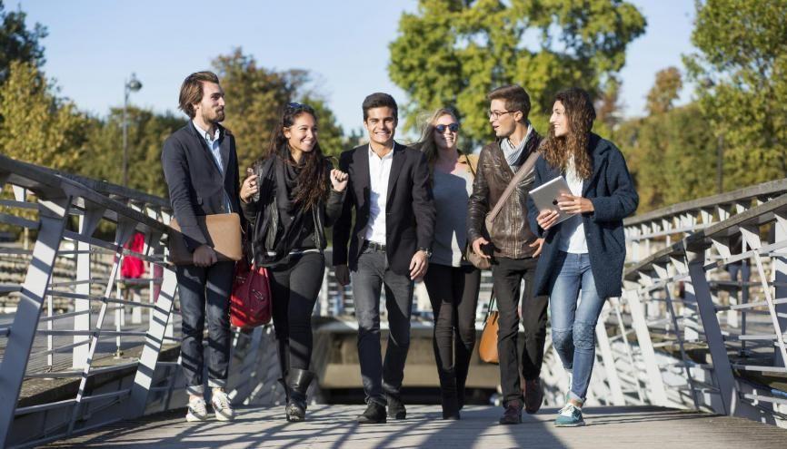 L'EDC Paris Business School est l'une des quatre écoles de commerce recrutant via le concours Link. //©EDC