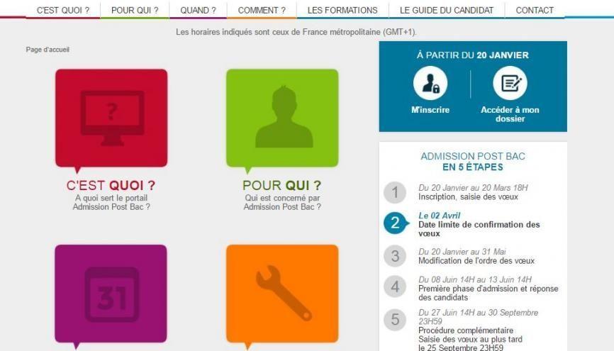 Etape 2 Sur Apb Confirmer Les Candidatures Avant Le