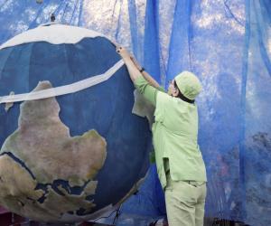 La protection de la planète est dévenue un enjeu majeur.