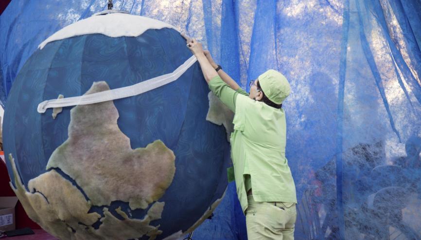 La protection de la planète est dévenue un enjeu majeur. //©Marta NASCIMENTO/REA