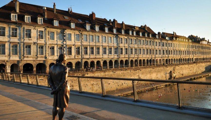 En étudiant à Besançon, vous pourrez profiter de plusieurs aides de la région. //©Philippe Bohlinger