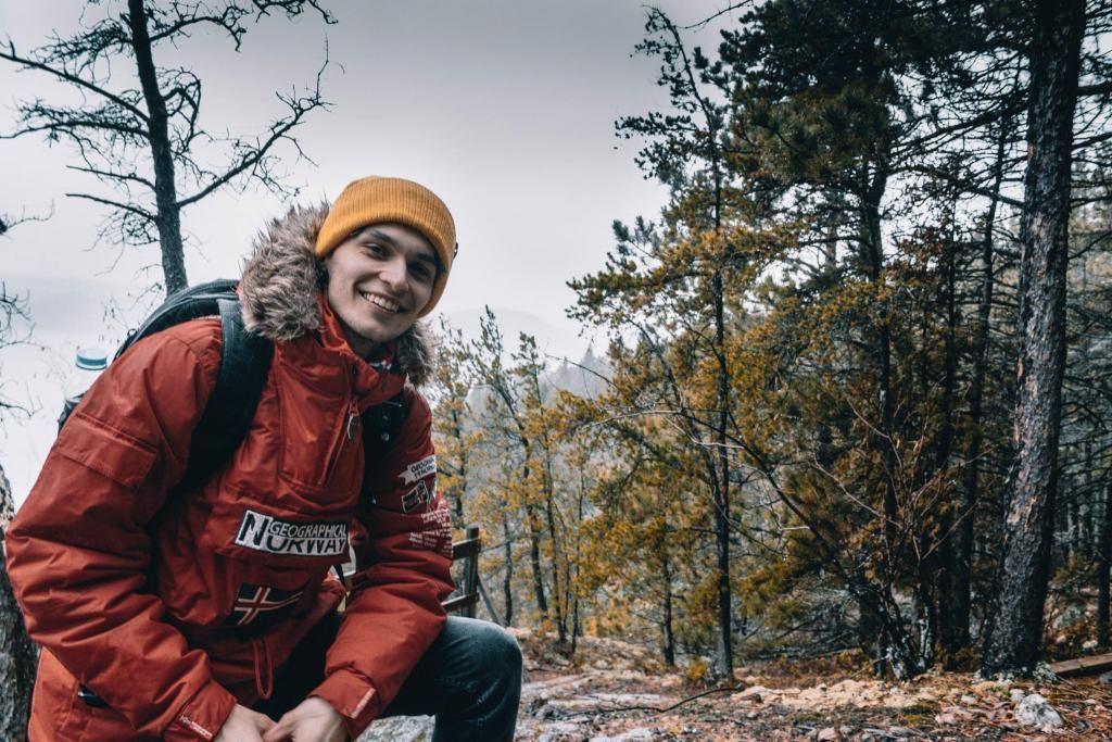 Paul-Adrien a passé quelques jours en Gaspésie. //©Photo fournie par le témoin