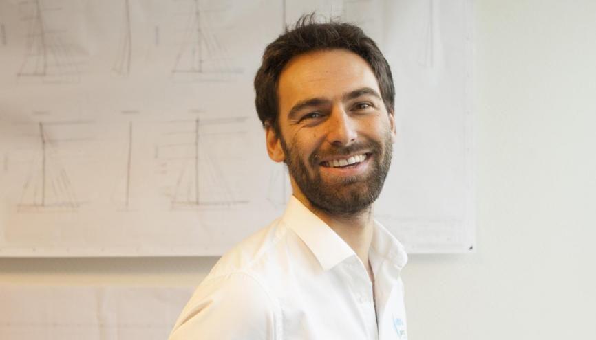 Sébastien, 31 ans, est ingénieur composite naval dans un bureau d'études. //©Cédric Martigny pour l'Etudiant