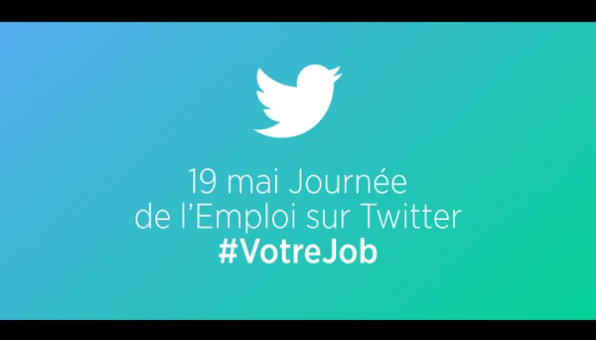 Twitter organise le 19 mai 2016 sa deuxième journée européenne de l'emploi. //©Twitter France