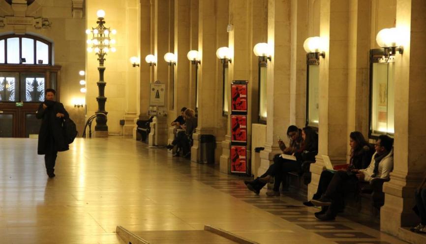 L'université Paris 1 arrive en première place de notre palmarès des facs de droit pour l'insertion après un master. //©Camille Stromboni