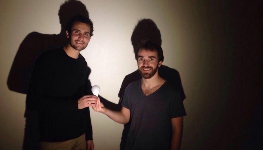 Jim Pasquet, 24 ans, et Yanis Lammari, 23 ans, sont étudiants à Toulouse Business School. //©Photo fournie par le témoin