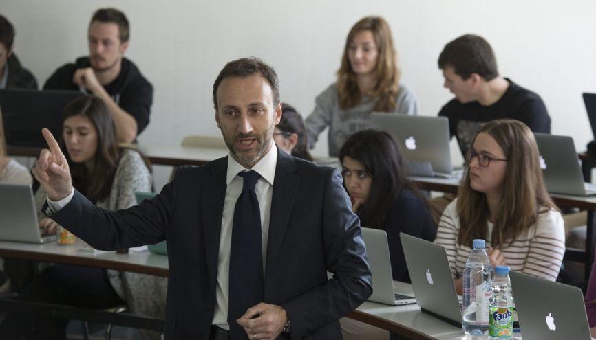 HEC Paris propose un MSc Strategic Management pour lequel l'école sélectionne des étudiants venant du monde entier. //©Jean-Marc Biais/HEC Paris