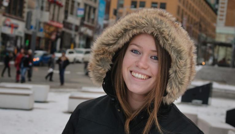 Ma vie d'étudiant à Montréal : Léa, en 3e année de licence à l'UQAM