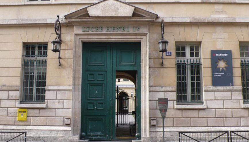 Lycée Henri IV © gertrude o'byrne //©Gertrude O'Byrne