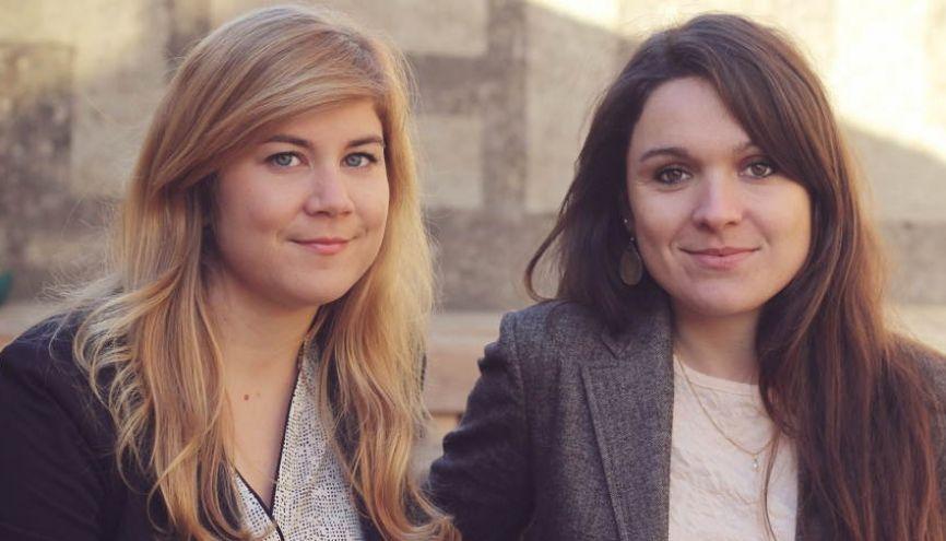 Le concept de la start-up de Camille et de Marion : organiser des événements dans des lieux inédits. //©Photo fournie par les témoins